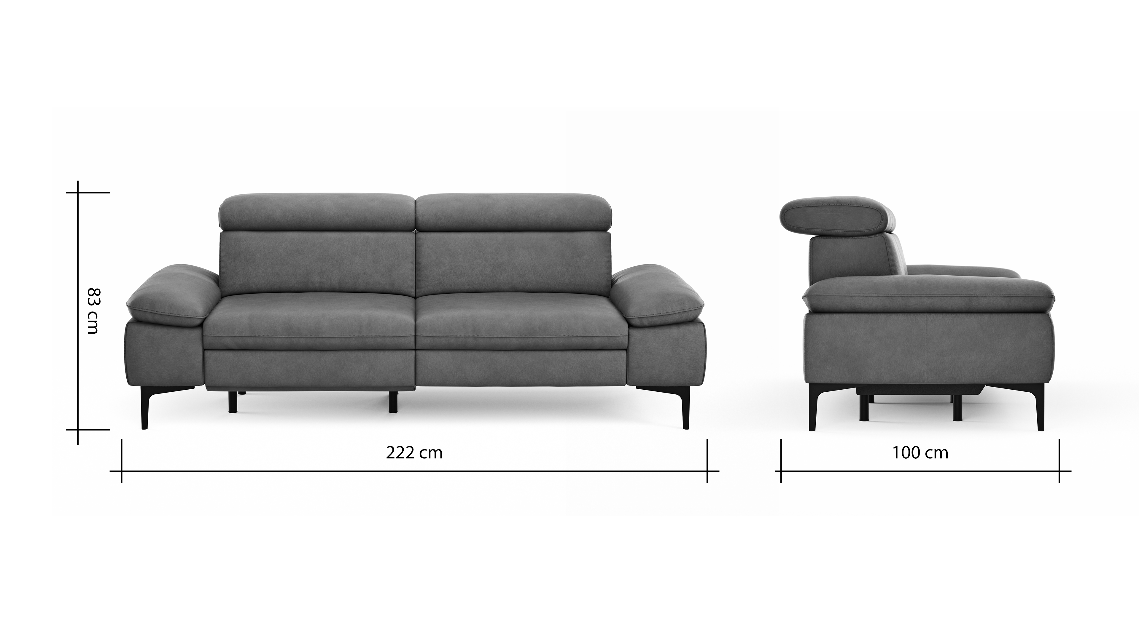 Global Family Sofa Felipa BemFreisteller 105135 | Homepoet