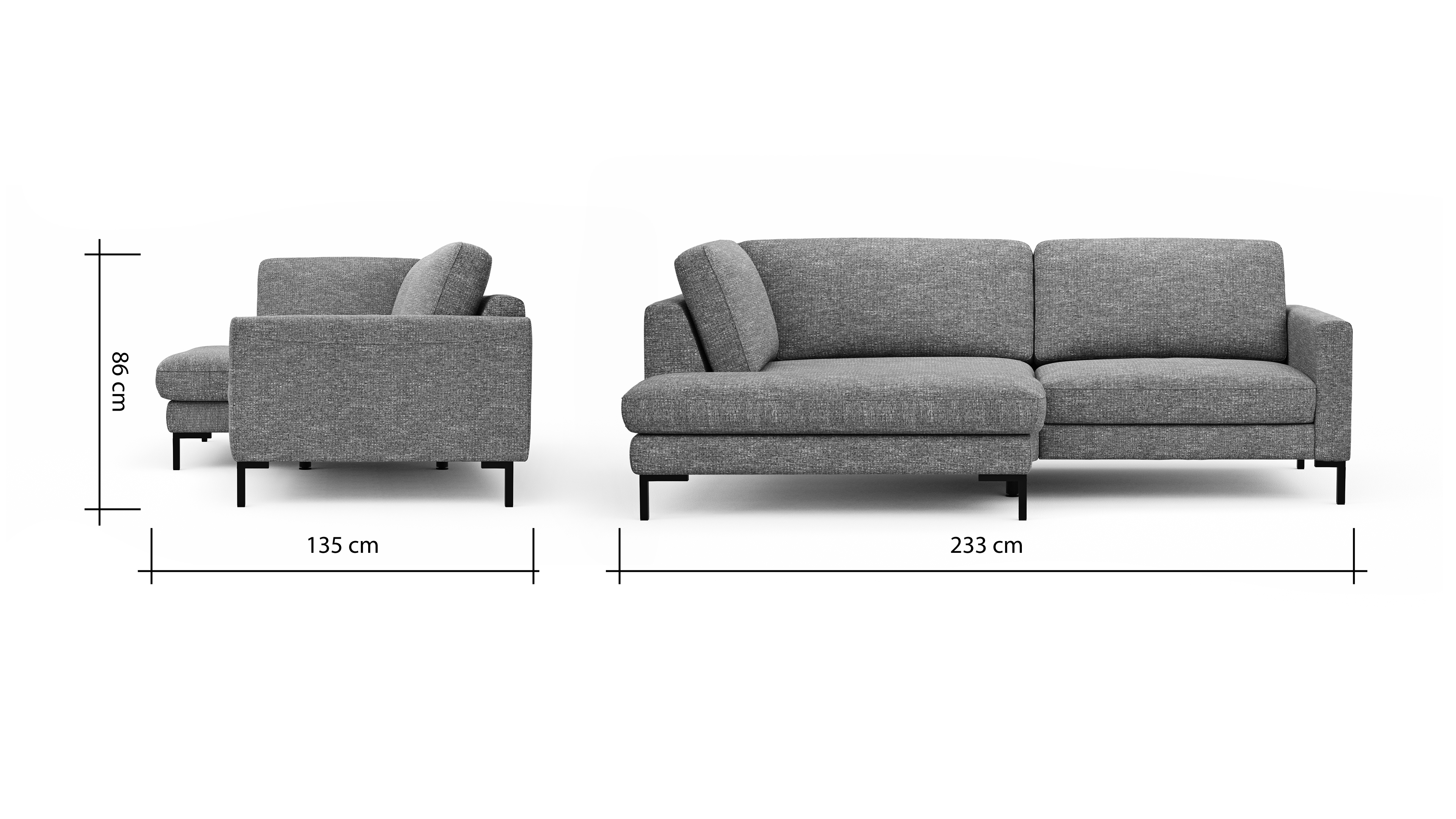 Global Family Ecksofa Oviedo BemFreisteller 102309 | Homepoet