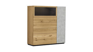 Global Select Highboard Montero masterbild 100047 small | Homepoet